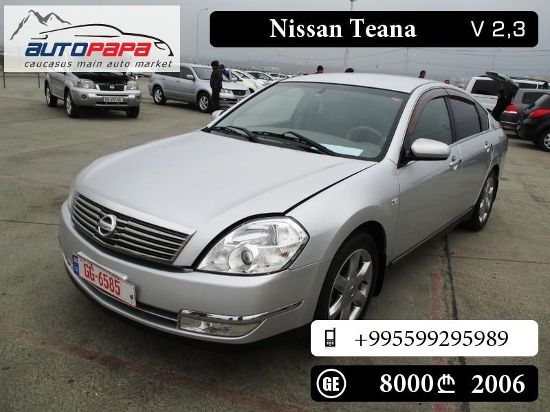 Nissan Teana I Restyling 2006 - 2008 Sedan #4