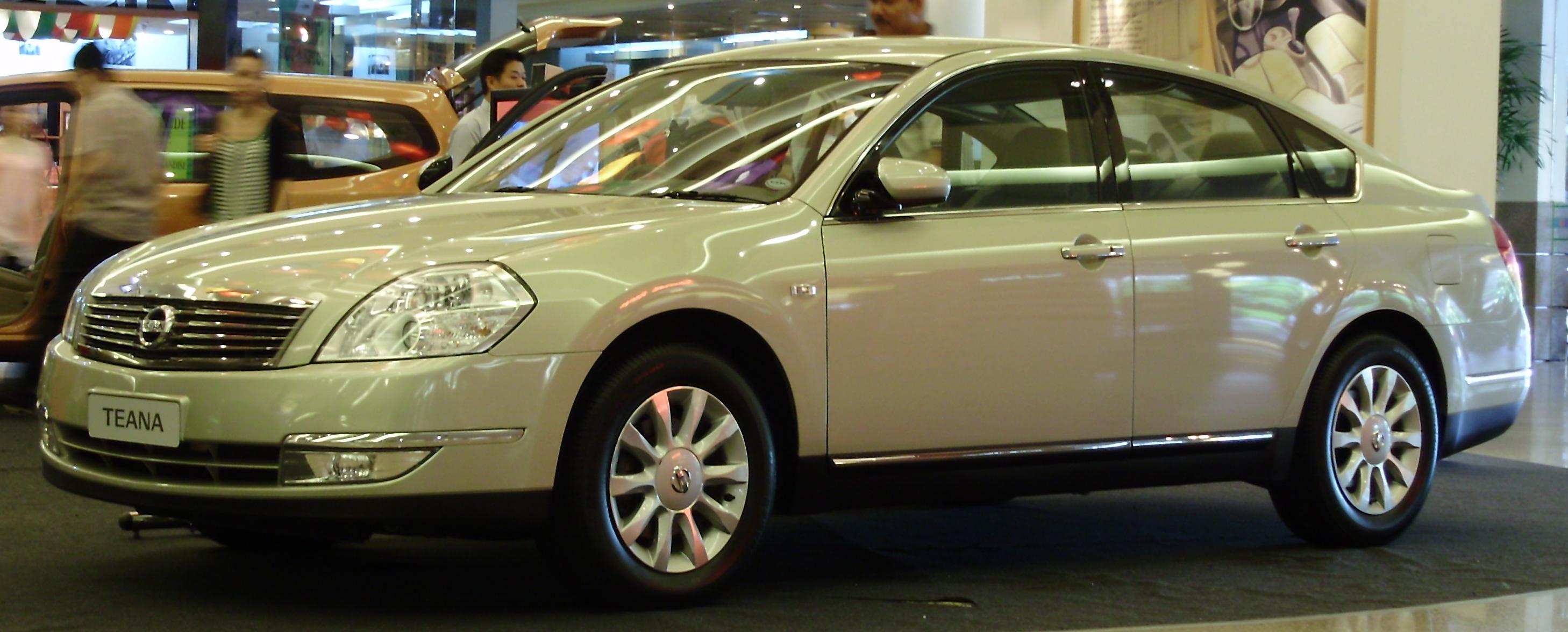 Nissan Teana I Restyling 2006 - 2008 Sedan #6