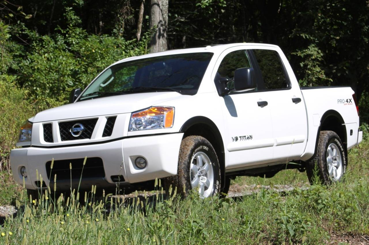 Nissan Titan II 2015 - now Pickup #7