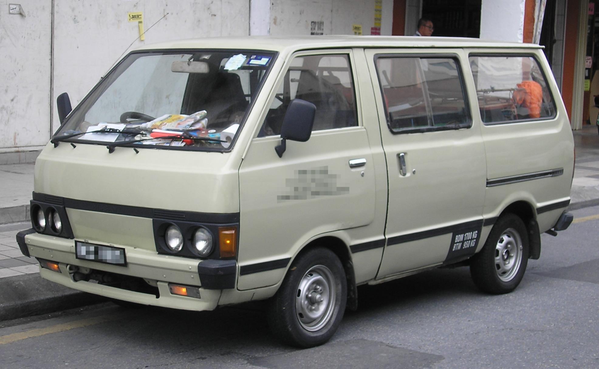 Nissan Vanette I 1978 - 1988 Minivan #6