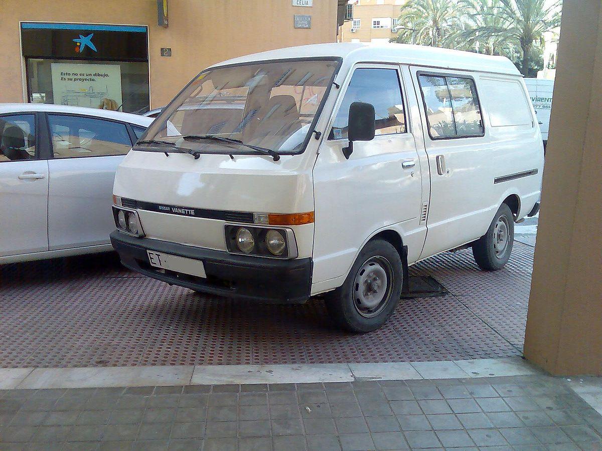 Nissan Vanette I 1978 - 1988 Minivan #3