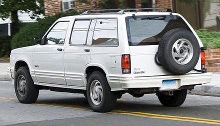 Oldsmobile Bravada I 1991 - 1994 SUV 5 door #4