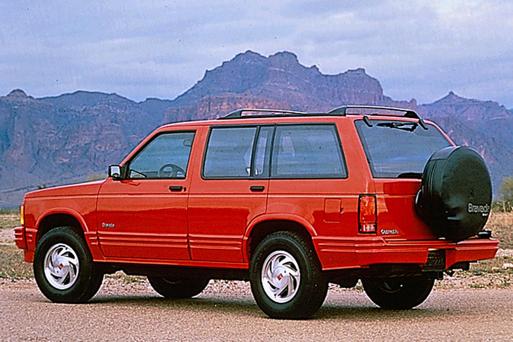 Oldsmobile Bravada I 1991 - 1994 SUV 5 door #3