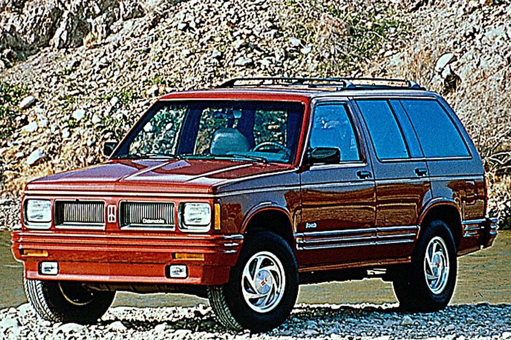 Oldsmobile Bravada I 1991 - 1994 SUV 5 door #2