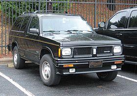 Oldsmobile Bravada I 1991 - 1994 SUV 5 door #8