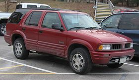 Oldsmobile Bravada II 1995 - 2001 SUV 5 door #4