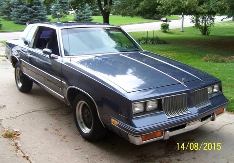 Oldsmobile Cutlass Calais 1984 - 1991 Coupe #3
