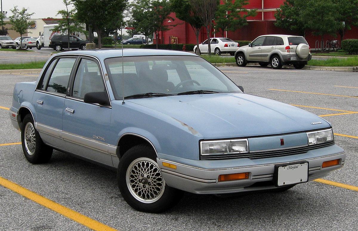 Oldsmobile Cutlass Calais 1984 - 1991 Coupe #7