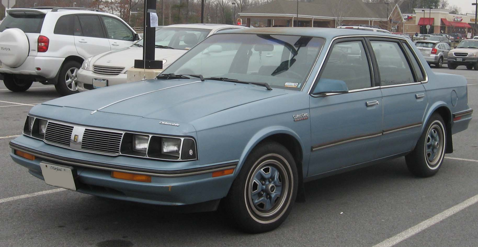 Oldsmobile Cutlass Ciera 1981 - 1996 Coupe #7