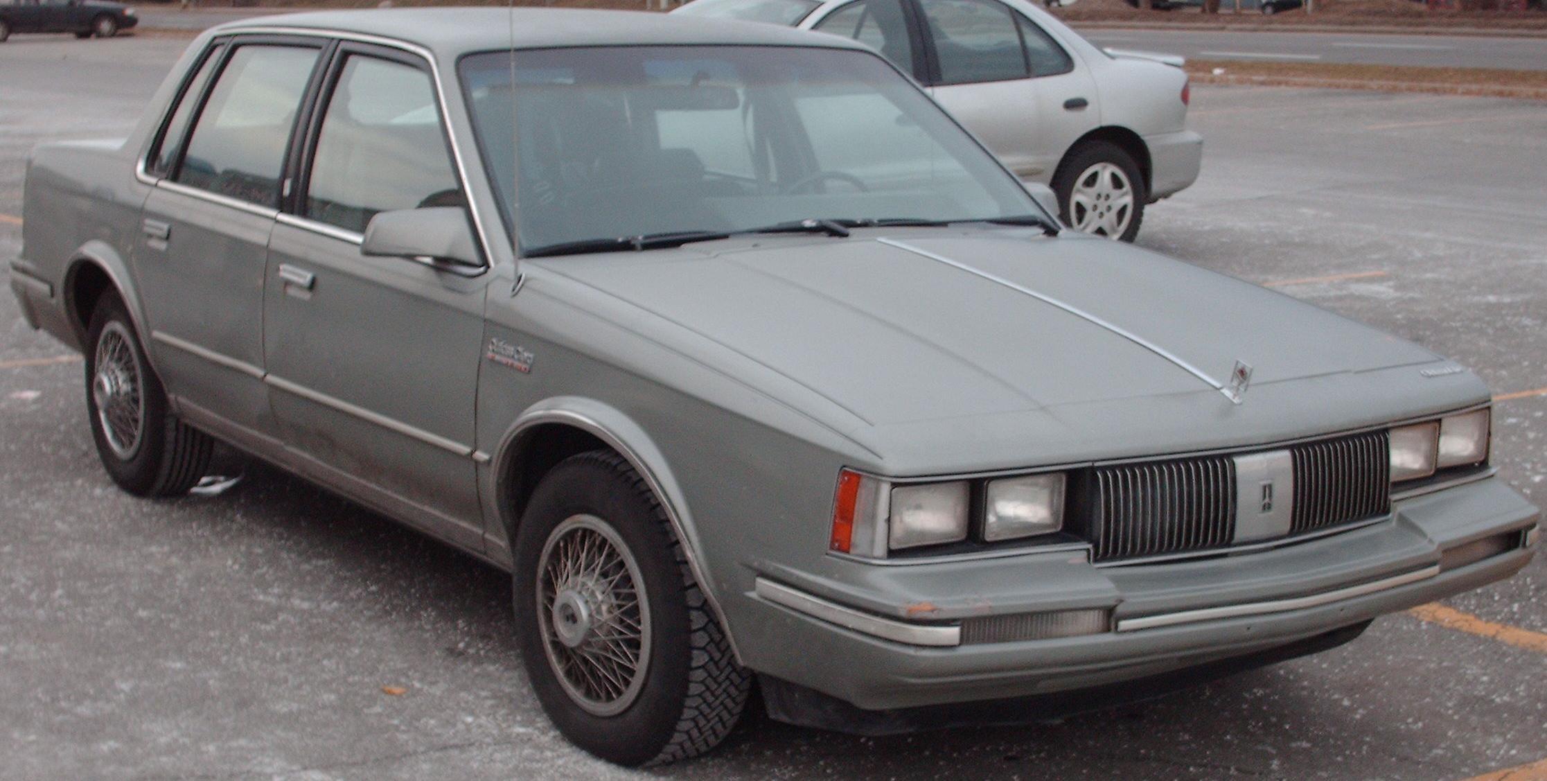 Oldsmobile Cutlass Ciera 1981 - 1996 Coupe #6
