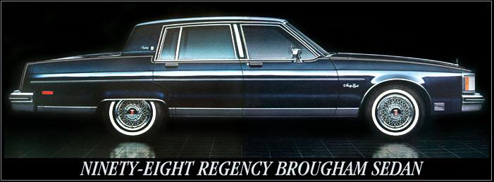 Oldsmobile Ninety-Eight IX 1977 - 1984 Sedan #3