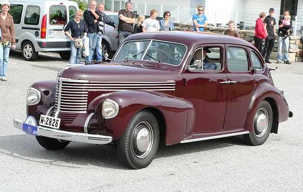 Opel Admiral '37 1937 - 1939 Sedan #4