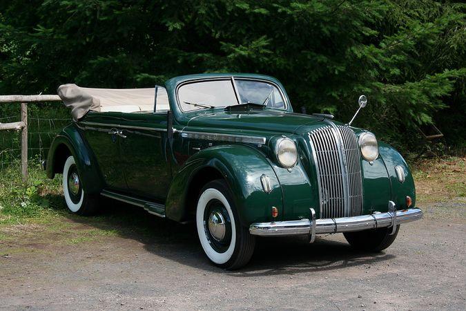 Opel Admiral '37 1937 - 1939 Sedan #2