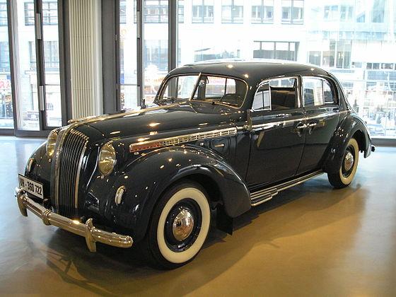 Opel Admiral '37 1937 - 1939 Sedan #7