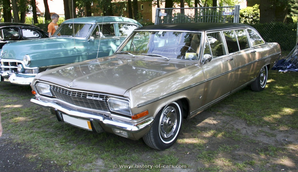 Opel Diplomat A 1964 - 1968 Coupe #1