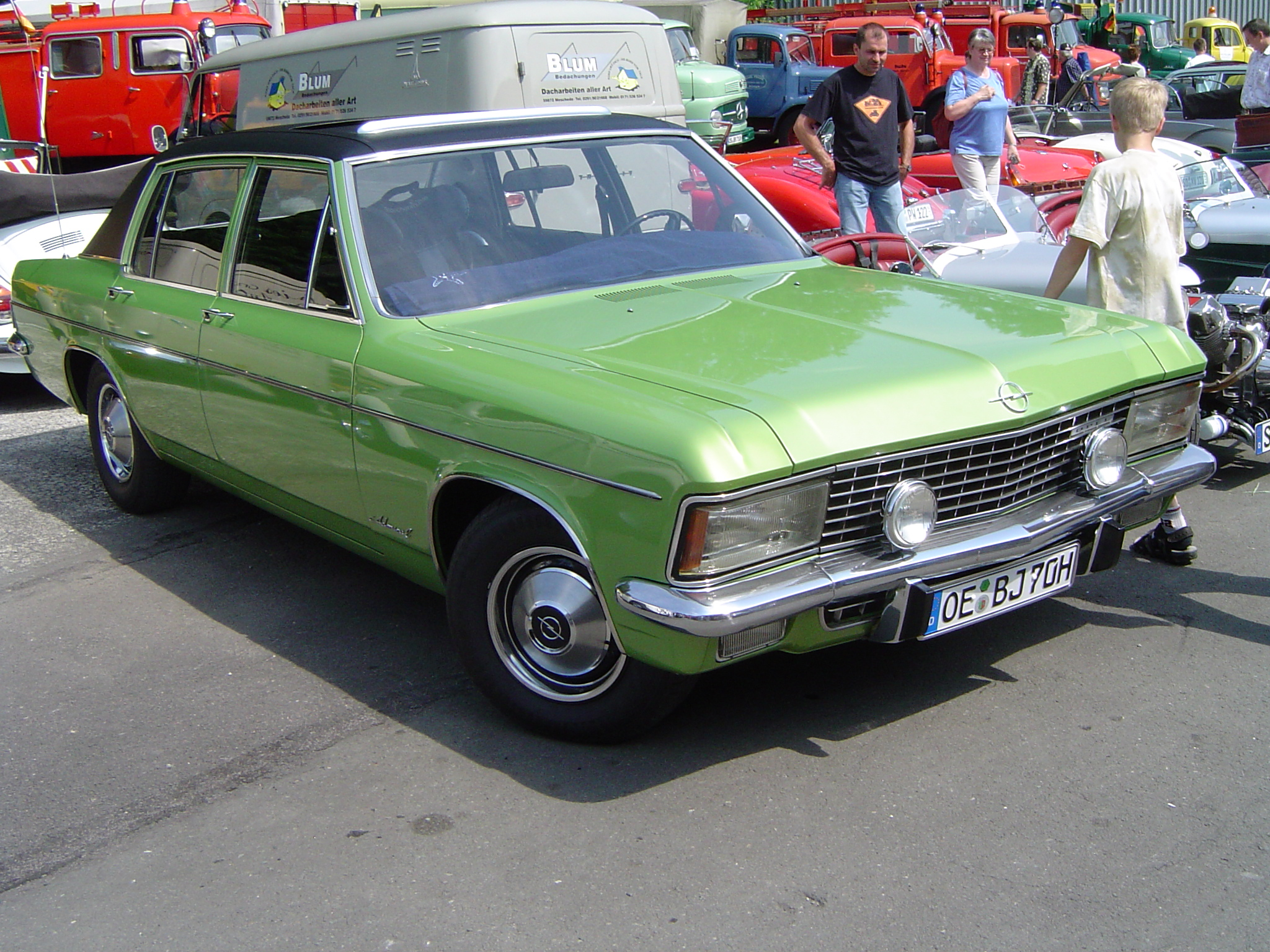 Opel Admiral B 1969 - 1978 Sedan #2