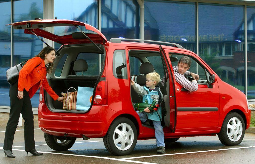 Opel Agila A 2000 - 2004 Microvan #1