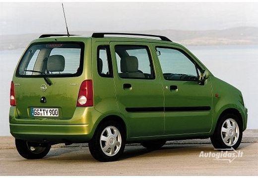Opel Agila A 2000 - 2004 Microvan #3