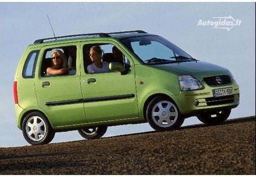 Opel Agila A 2000 - 2004 Microvan #6