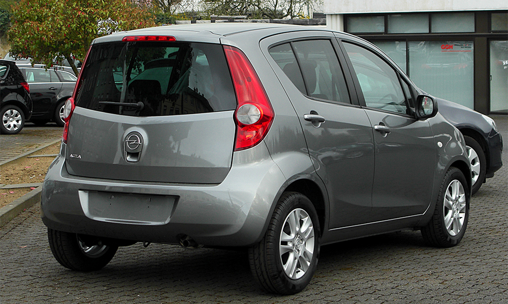 Opel Agila A Restyling 2004 - 2007 Microvan #2