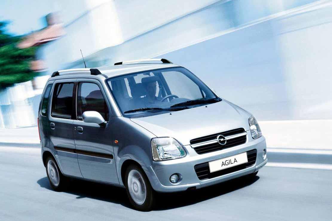 Opel Agila A Restyling 2004 - 2007 Microvan #4