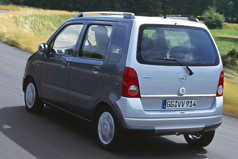 Opel Agila A Restyling 2004 - 2007 Microvan #8