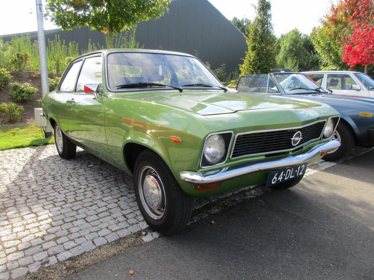 Opel Ascona A 1970 - 1975 Coupe #2