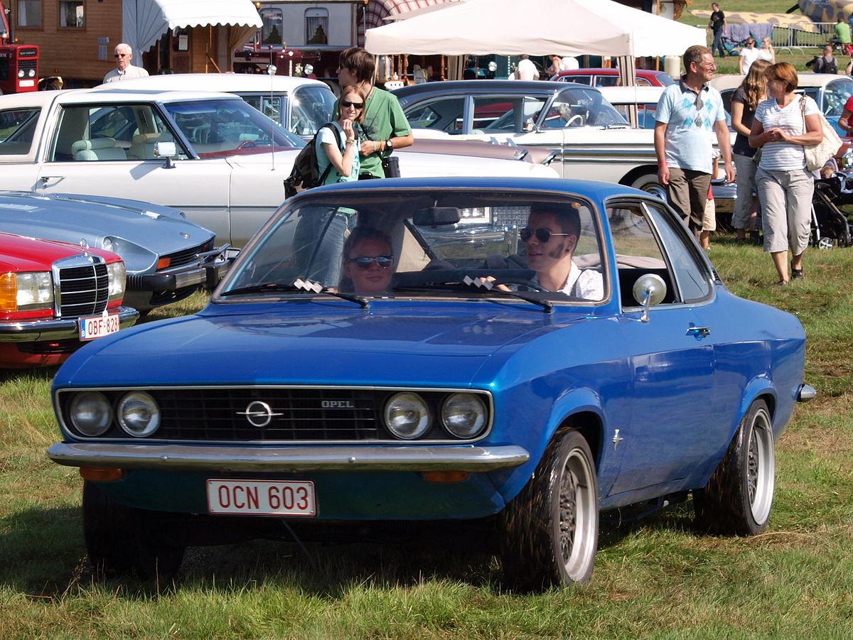 Opel Ascona A 1970 - 1975 Sedan #8