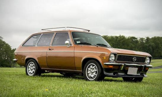 Opel Ascona A 1970 - 1975 Station wagon 3 door #1