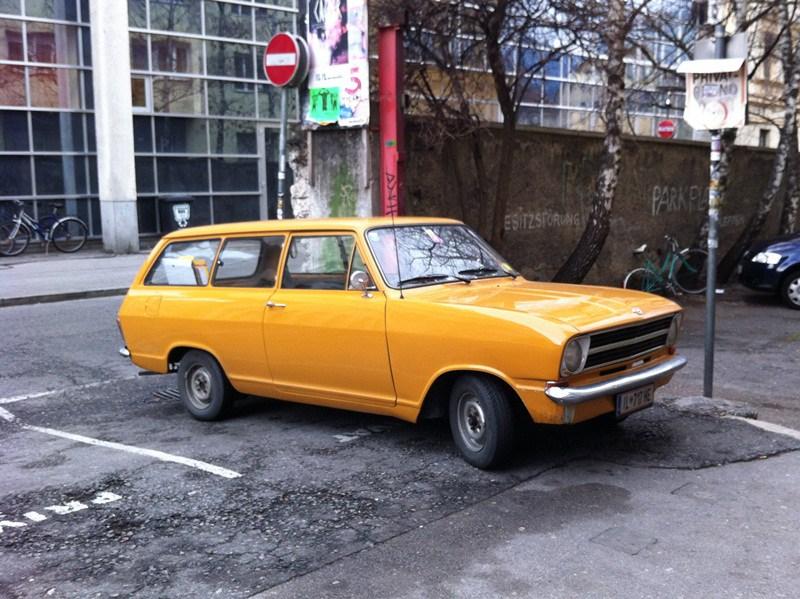 Opel Kadett B 1965 - 1973 Station wagon 3 door #7