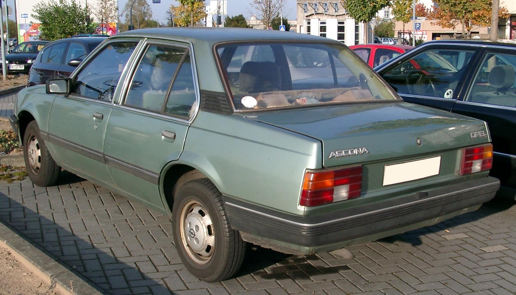 Opel Ascona C 1981 - 1988 Coupe #5