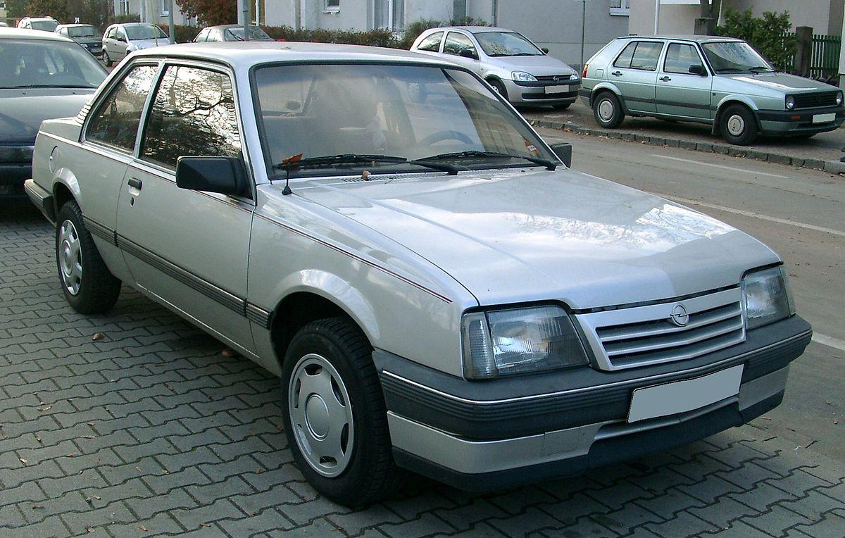 Opel Ascona C 1981 - 1988 Coupe #6
