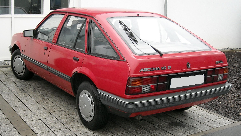 Opel Ascona C 1981 - 1988 Hatchback 5 door #3