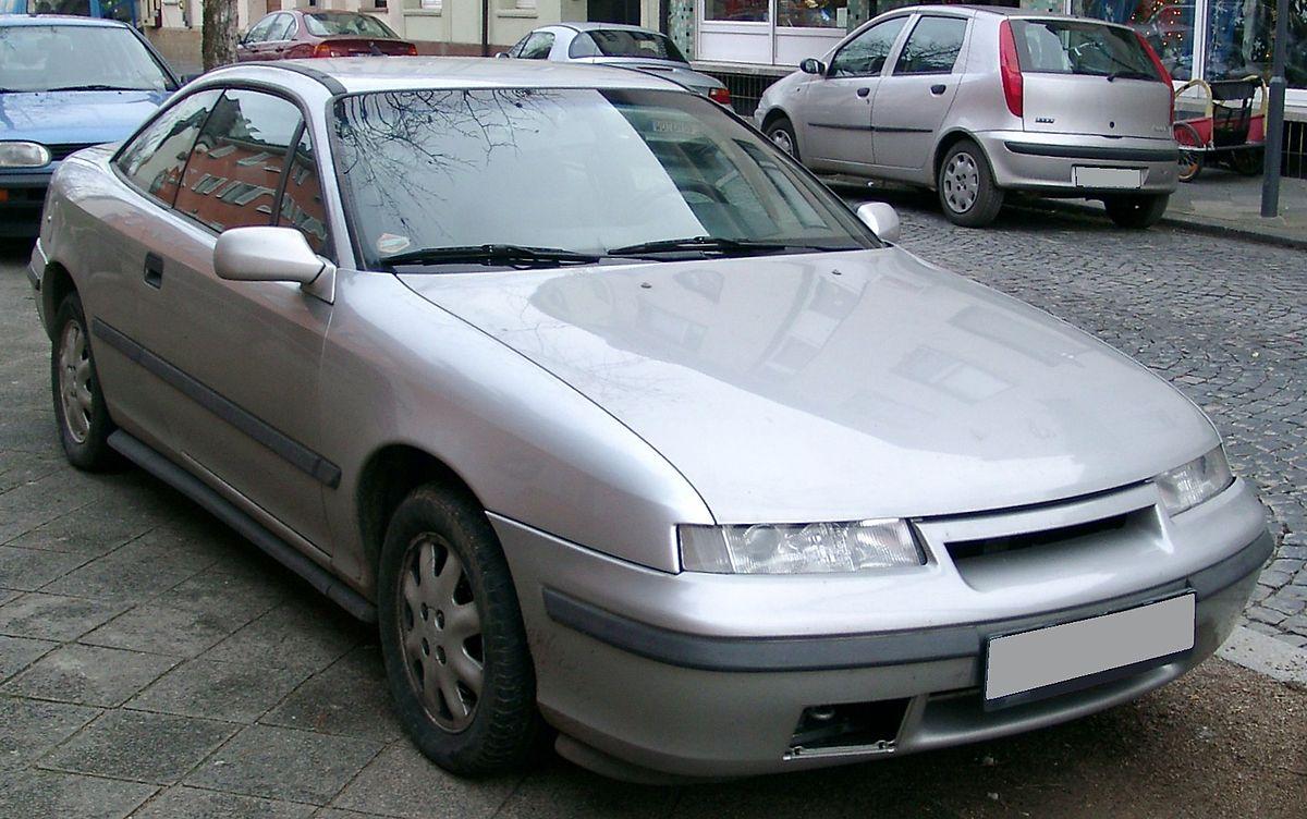 Opel Calibra 1989 - 1997 Coupe #8