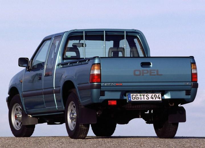 Opel Campo 1991 - 2000 Pickup #2
