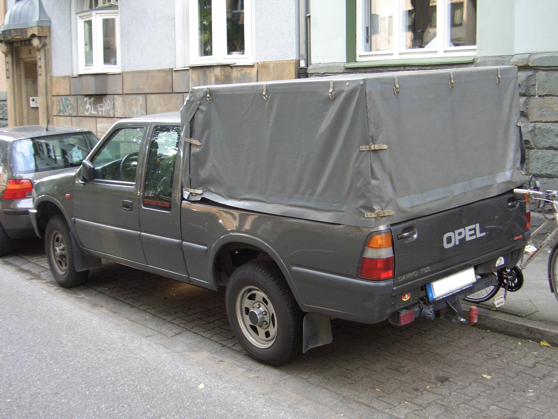Opel Campo 1991 - 2000 Pickup #5