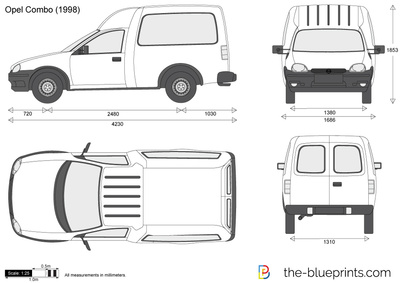 Opel Combo B 1993 - 2001 Van #1