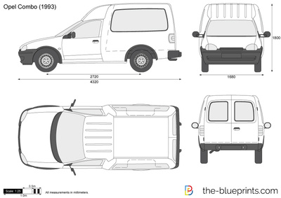 Opel Combo B 1993 - 2001 Van #4