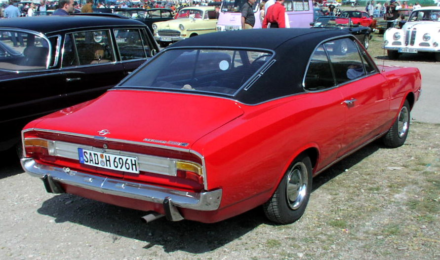Opel Commodore A 1967 - 1971 Coupe #4