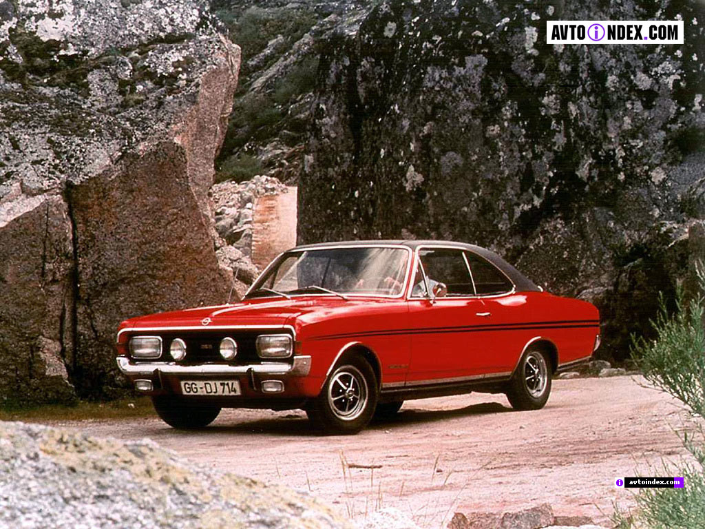 Opel Commodore A 1967 - 1971 Coupe #3