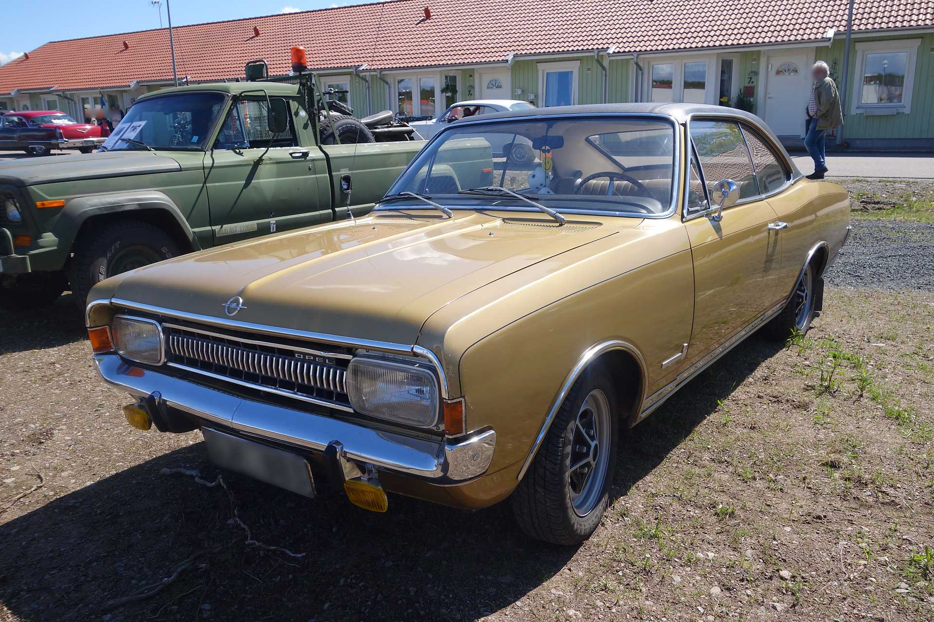 Opel Commodore A 1967 - 1971 Coupe #2