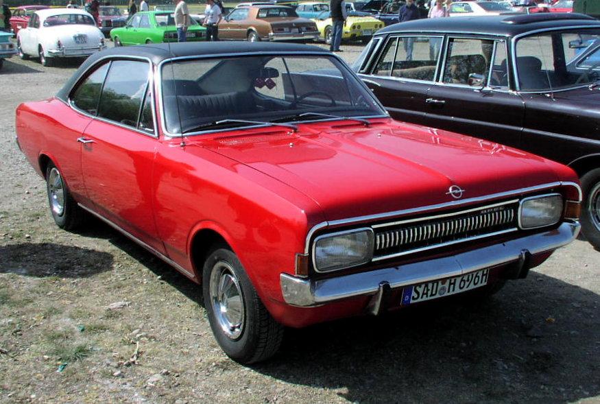 Opel Commodore A 1967 - 1971 Sedan #6