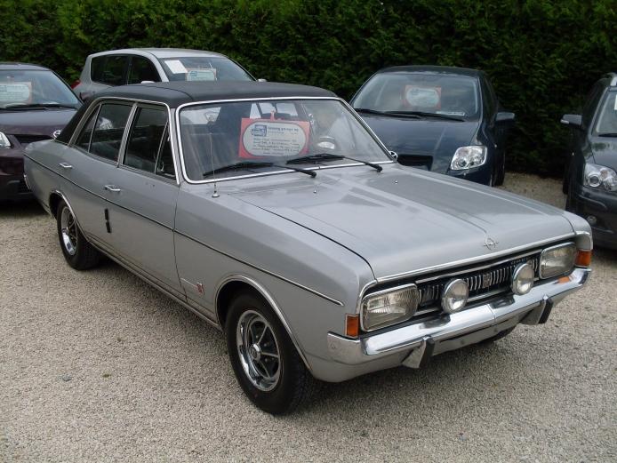 Opel Commodore A 1967 - 1971 Sedan #3