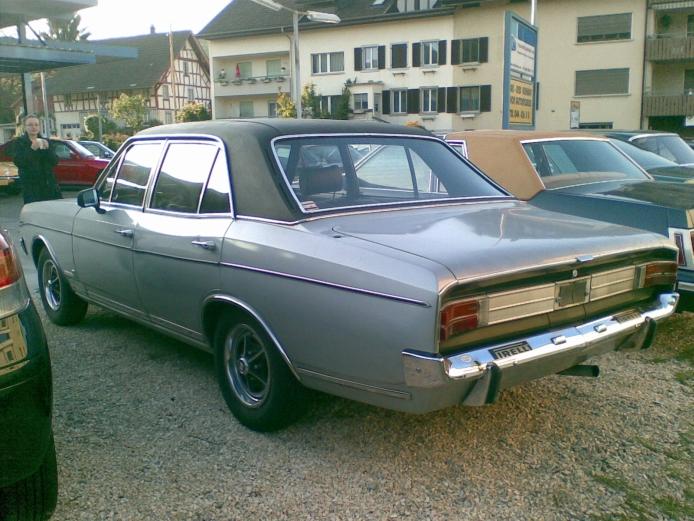 Opel Commodore A 1967 - 1971 Sedan #1