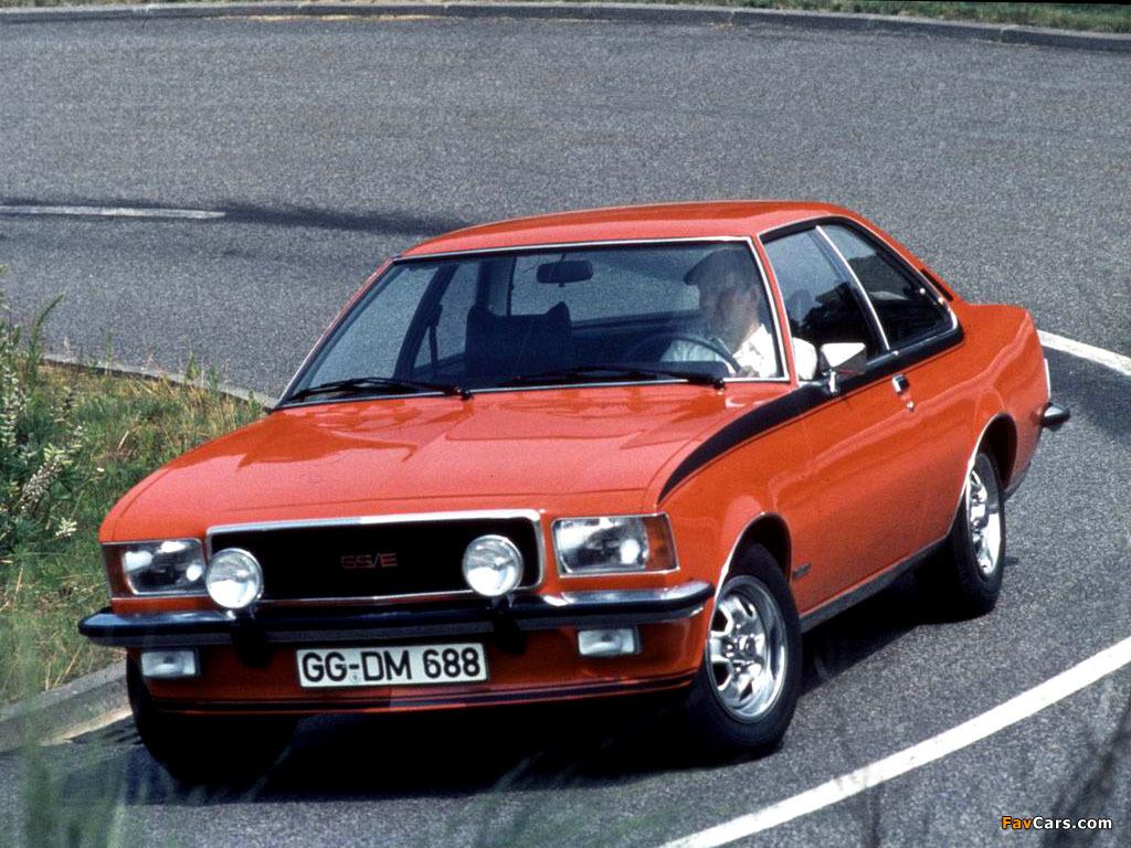Opel Commodore B 1972 - 1978 Coupe #1