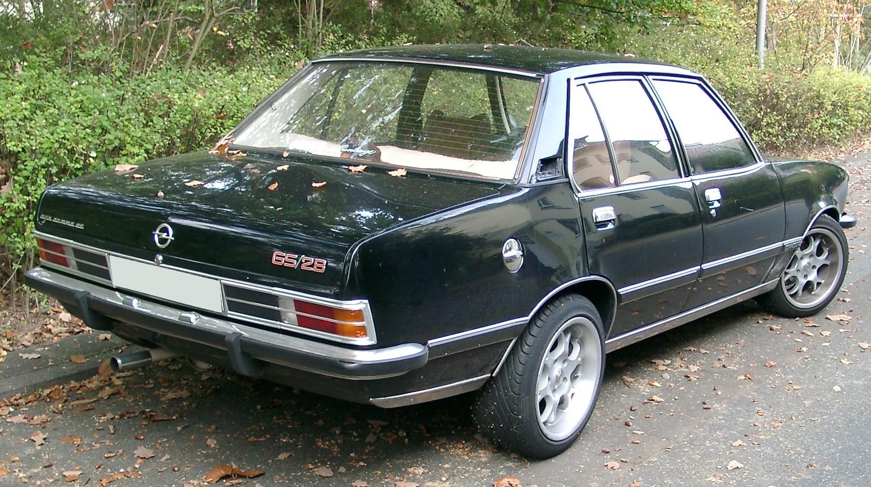 Opel Commodore C 1978 - 1982 Sedan #4
