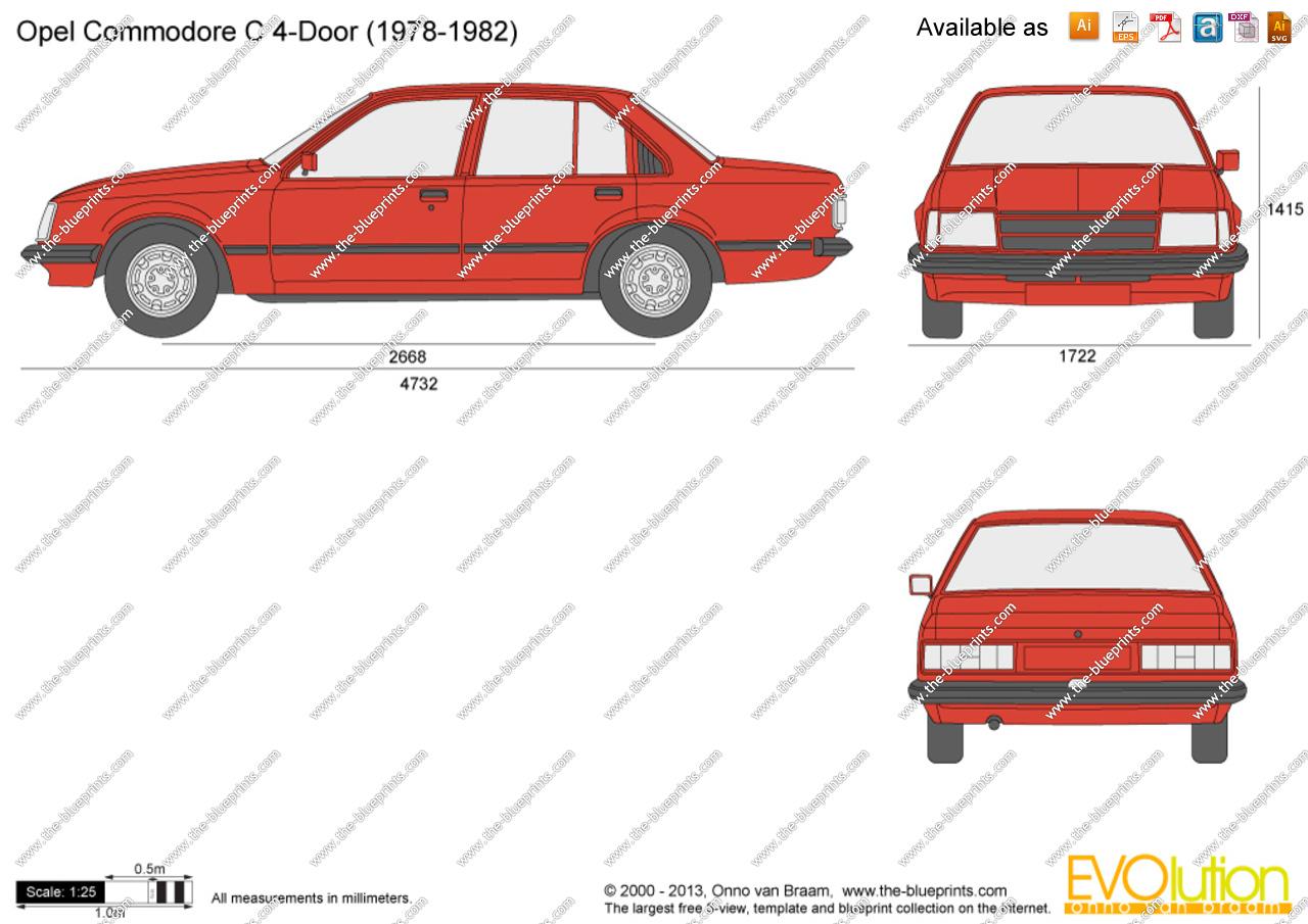 Opel Commodore C 1978 - 1982 Sedan #2
