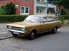 Opel Commodore C 1978 - 1982 Station wagon 5 door #1
