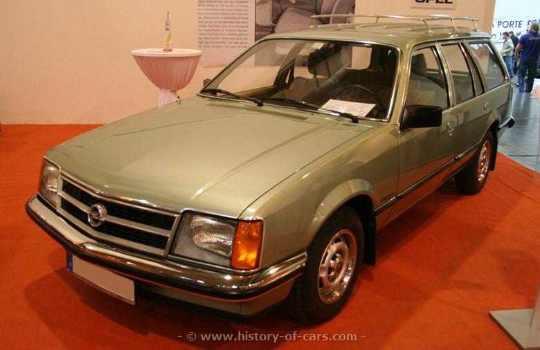 Opel Commodore C 1978 - 1982 Station wagon 5 door #2