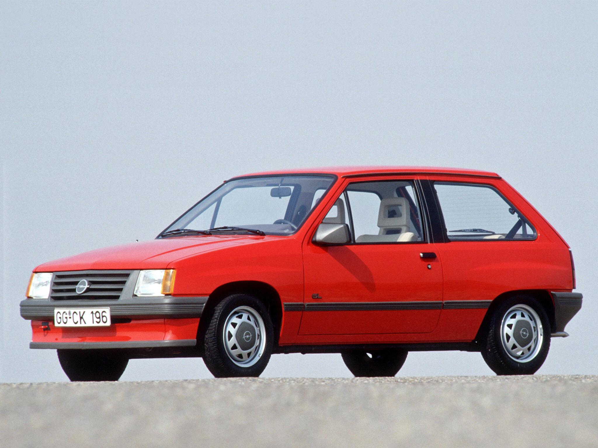 Opel Corsa A 1982 - 1993 Hatchback 3 door #4